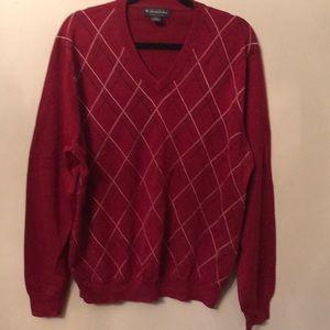 💥 New! Brooks Brothers Dark red sweater.